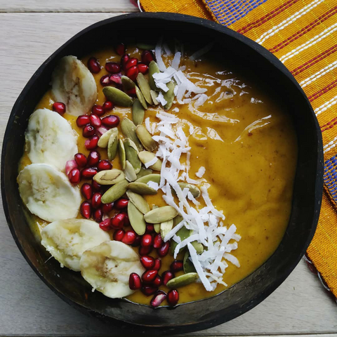Pumpkin Spice Smoothie bowl