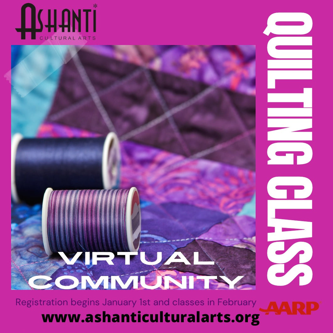 Supplies for Ashanti Quilting