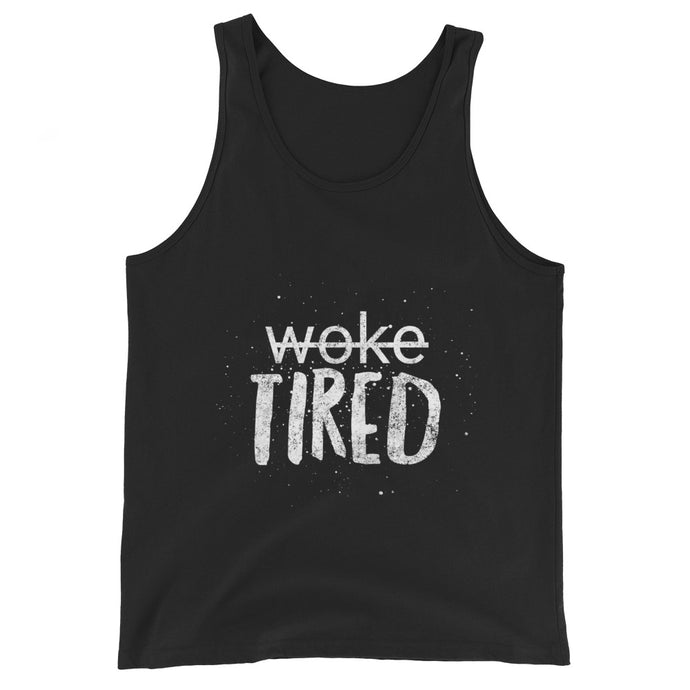 Woke/Tired Unisex Tank Top