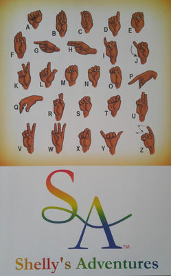 ASL Alphabet Poster - Shelly's Adventures