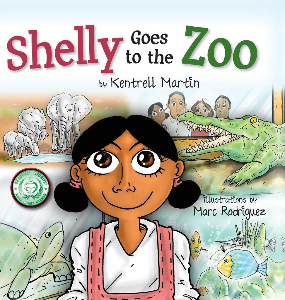 Shelly Goes to the Zoo softcover - Shelly's Adventures