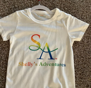 """SA Colorful Logo""  T-Shirt"