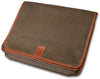 Messenger Bag - Brown Faux Suede