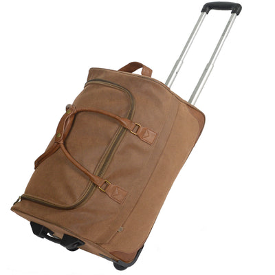 "Rolling Duffle - 21"" Brown"