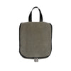 Hanging Toiletry Bag - Aspen Grey Faux Suede