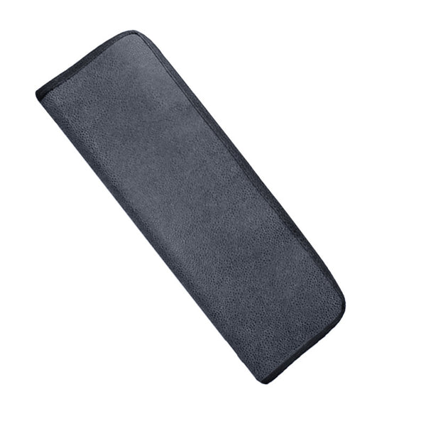 Aspen Grey Faux Suede Tie Case
