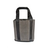 Party-To-Go Tote - Aspen Grey Faux Suede