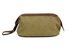 Dopp Kit - Washed Green Canvas Classic