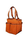 Haul It All Bag - Orange Faux Suede