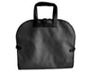 Garment Bag - Black Faux Suede