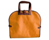 Garment Tote - Orange Faux Suede