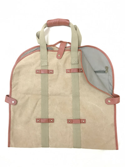 Garment Tote - Washed Camel Canvas