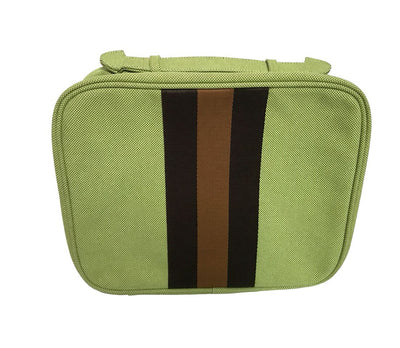 Large Hanging Toiletry Bag - Bermuda Green