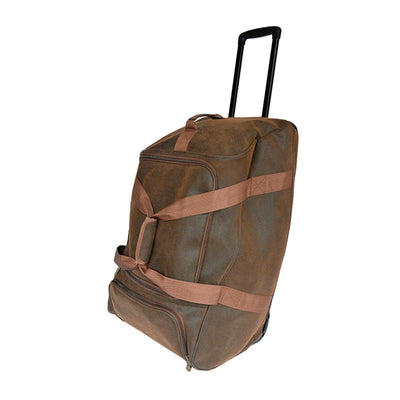 Monster Duffle - Brown Scotch Grain