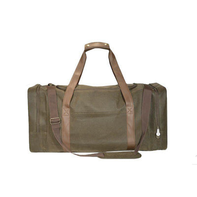 Gear Bag - Brown Faux Suede