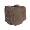 Garment Weekender - Brown Faux Suede