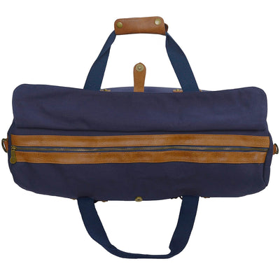 Canvas Duffle - Washed Navy Canvas