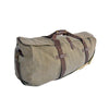 Large Canvas Duffle - Washed Green Canvas