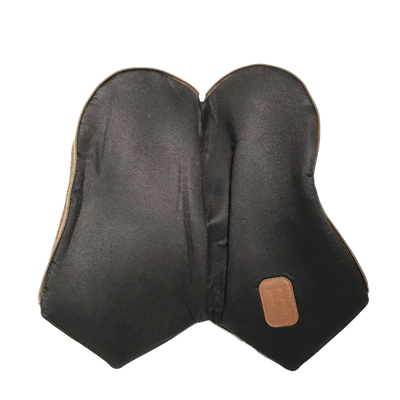 Brown Faux Suede Driver Head Cover
