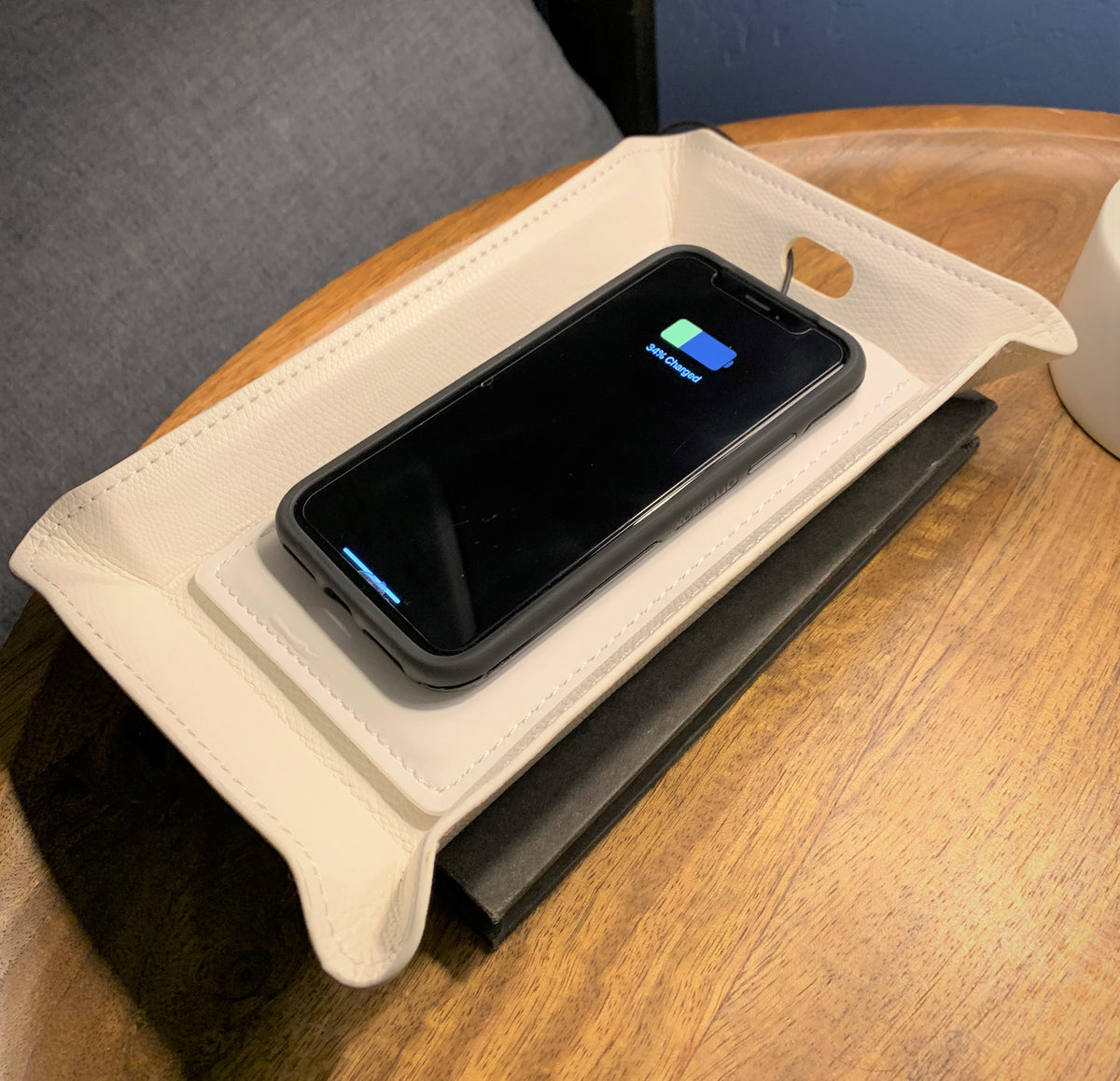 Wireless Charging Valet Tray