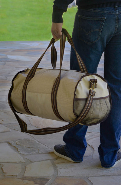 "Barrel ""Gym"" Duffle - Serengeti"