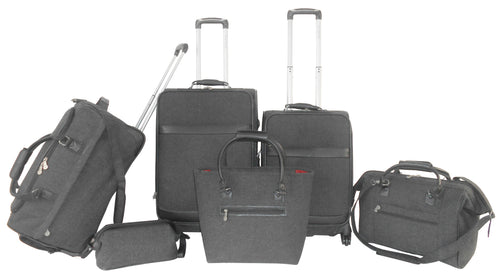 Herringbone Collection Luggage Set