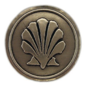 Shell Noble Initial Medallion