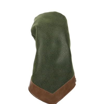 Millwood Green Faux Suede Driver Head Cover