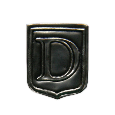 """D"" Noble Initial Shield"