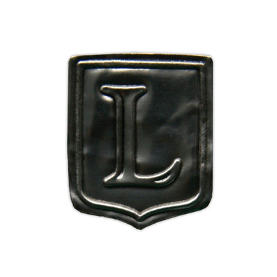 """L"" Noble Initial Shield"