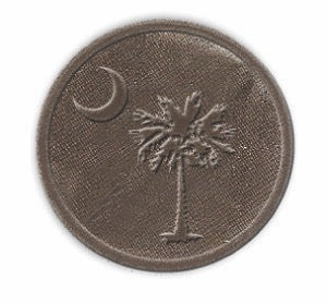 Palmetto Palm Noble Initial Medallion