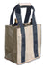 Party-To-Go Tote - Slate & Tan