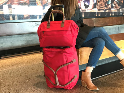 "Rolling Duffle - 21"" Red"