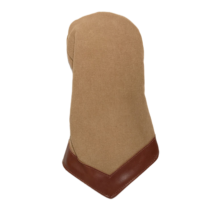 Camel Canvas Driver Head Cover