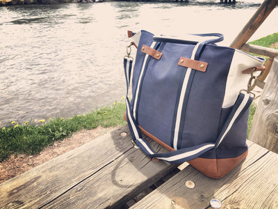 All Around Bag - Washed Navy Canvas