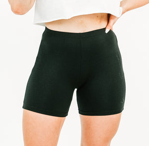 Black YAE Cycle Shorts