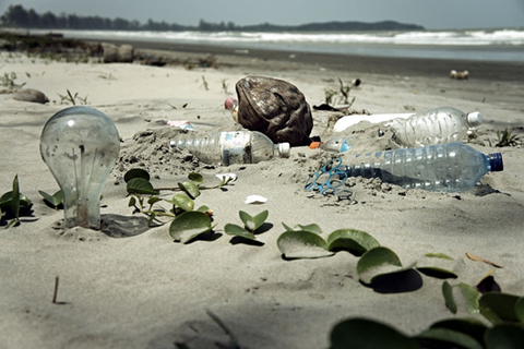 Every plastic bottle you've ever used still exists on the planet in some form or another.