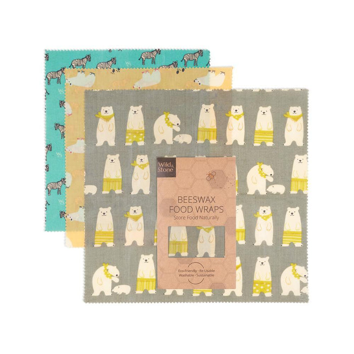 Beeswax Food Wraps Animal Print