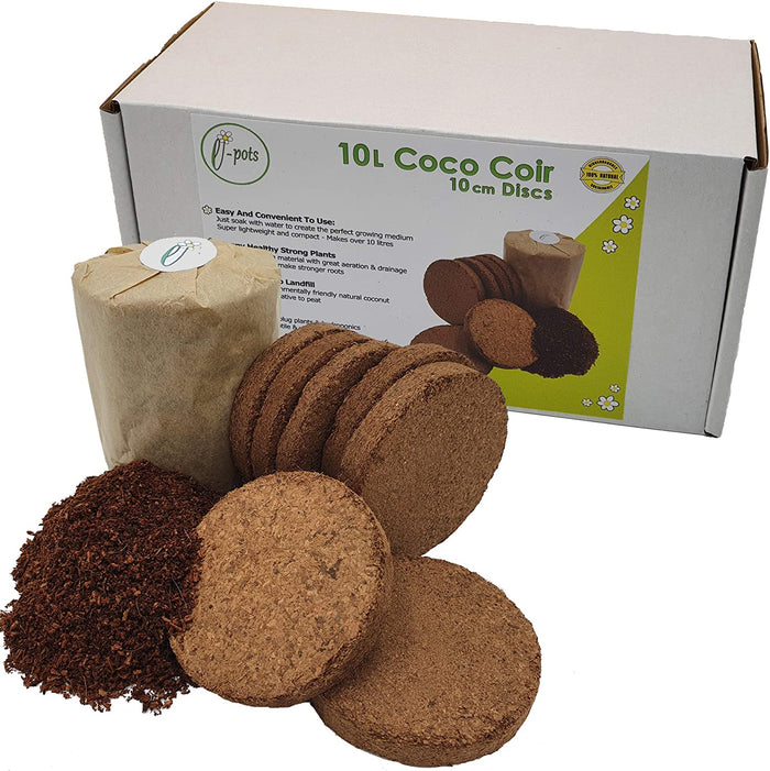 Coconut Compost Discs