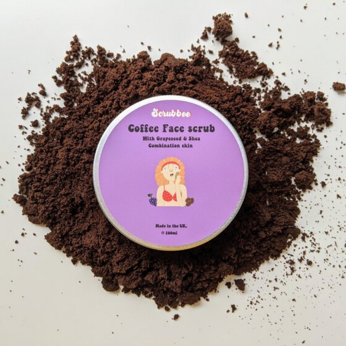 Upcycled Coffee Face Scrub (Combination Skin)
