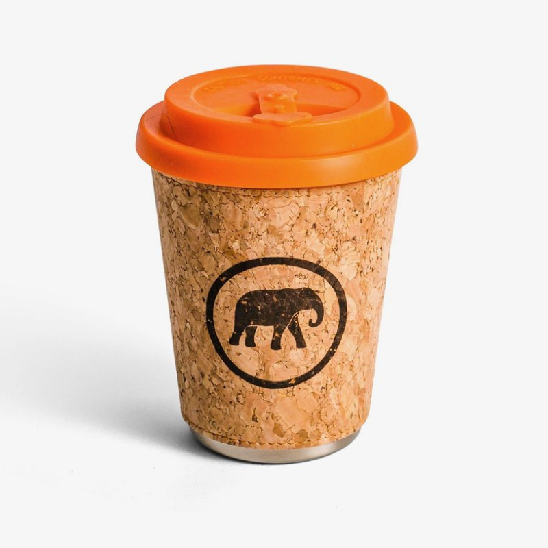Cork-coffee-cup-orange-silicone-lid
