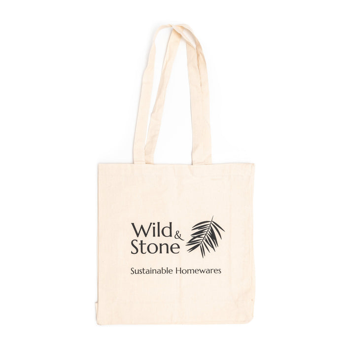 Recycled Tote Bag - Natural Cotton