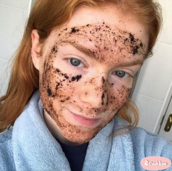 Upcycled Coffee Face Scrub (Oily Skin)