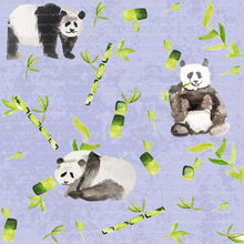 Watercolor Pandas original artwork