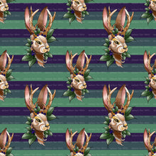 Jackalope Stripes original artwork