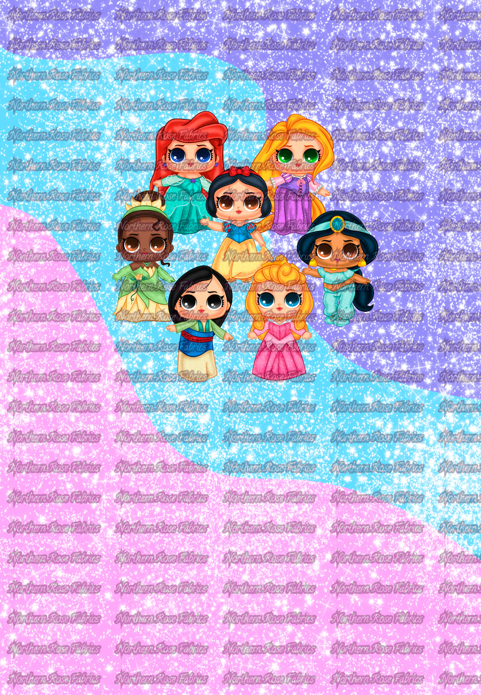 LOL Princess Version 2 Panels Kid Size (18x26 inches)