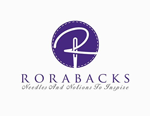 RORABACKS Premium 45mm Rotary Fabric Cutter For Quilting And Leather Work - Pleasantly Purple Ergonomic Handle with Razor Sharp Titanium Blade