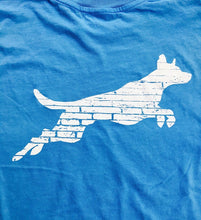 Weathered Leaping Dog T-Shirt