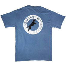 Frisbee Dog Pocket T-Shirt Blue