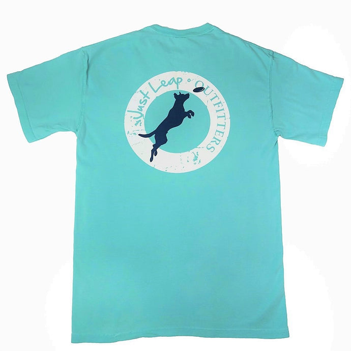 Frisbee Dog Pocket T-Shirt Chalky Mint